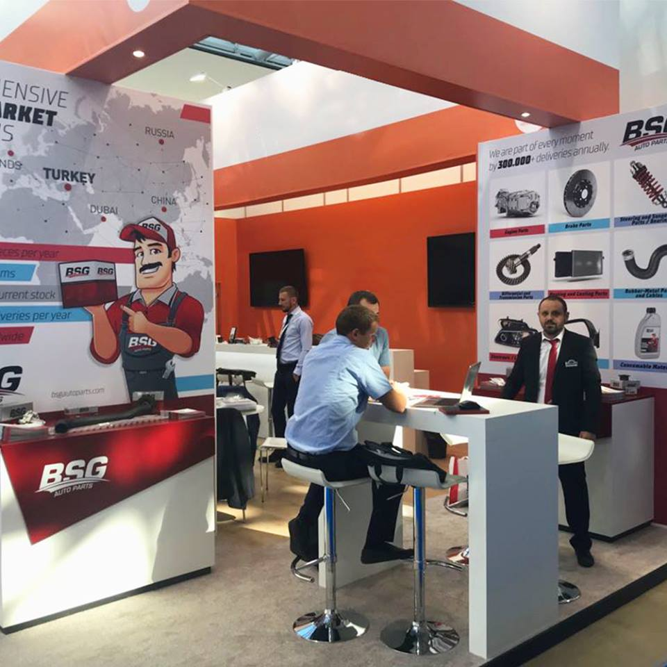 <p>BSG Auto Parts participated in the MIMS - Automechanika Moscow Fair,<br /> which is the most comprehensive automotive and automotive supplier industry fair on August 27-30, which includes Russia and CIS countries wich hosted many visitors. In our stand had great interest, guests from more than 500 different countries were hosted and productive meetings were held with both existing customers and candidate customers.</p>