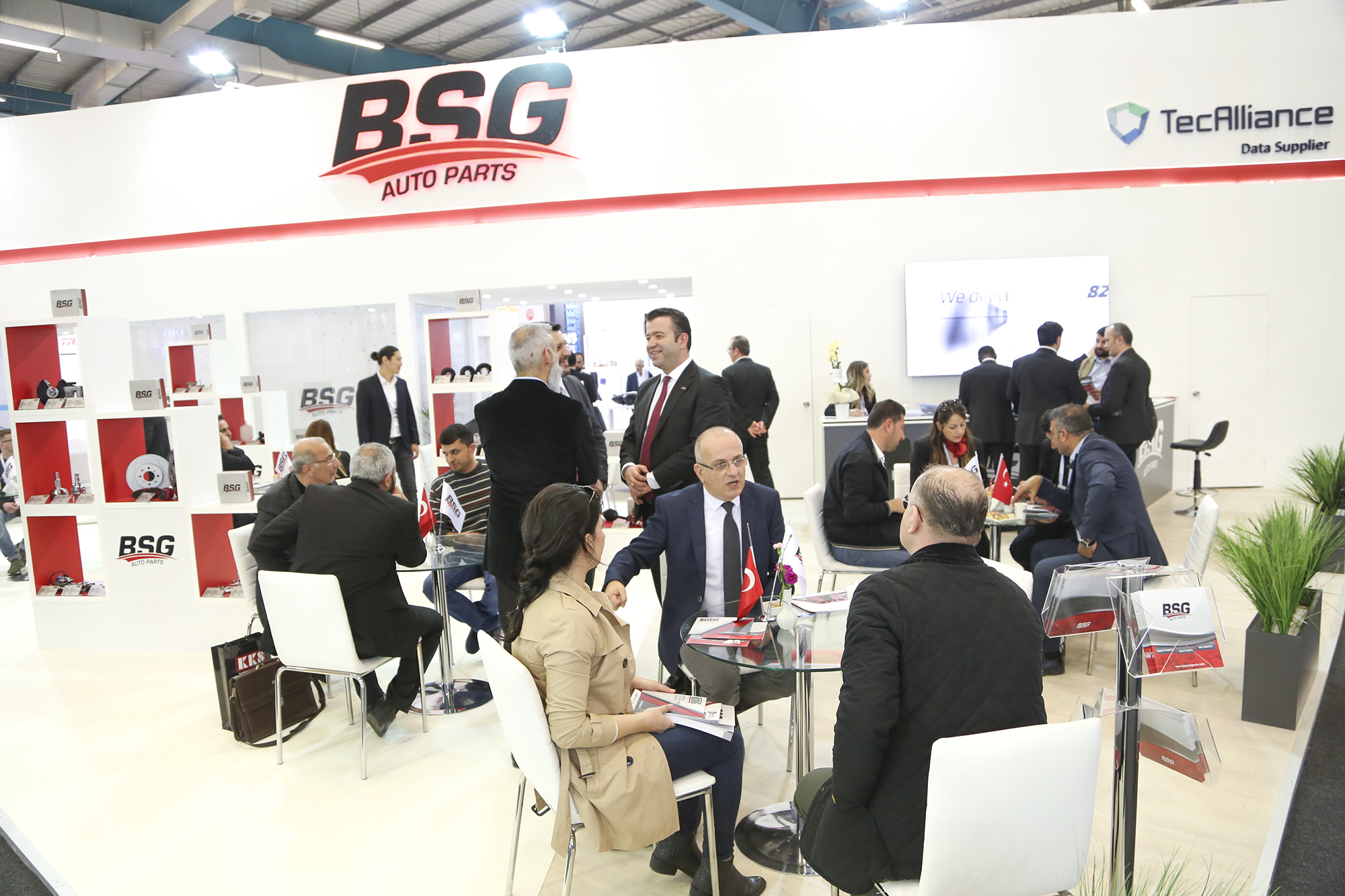 <p>BSG Auto Parts in Automechanika Istanbul 2018 was finished with very high participation. Was one of the focal point forfor both, it's stand design and participants also activities carried out. BSG Auto Parts brand hosted guests from Turkey even from many countries of the world with the participants showed great appreciation and interest.</p>  <p>With over 13.000 product references, the brand brings together quality and reliable products from 5 countries in the world with its existing and potential business partners; efficient and effective interviews was made.</p>